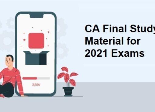 CA Final Study Material